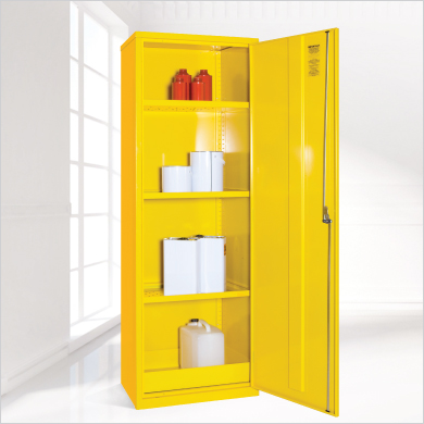 slim dangerous substance cabinet