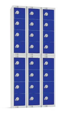 stackable personal effects lockers