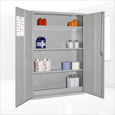 extra wide hazardous substance cosh cabinet