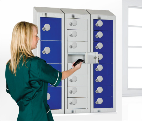 personal effects lockers wall mounted